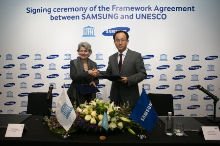 Samsung-and-UNESCO