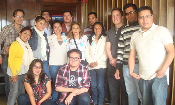 Participantes del 2 Day Bolivia Emprende